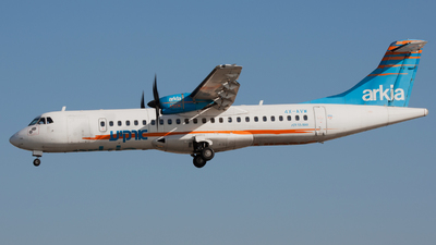 4X-AVW - ATR 72-212A(500) - Arkia Israeli Airlines