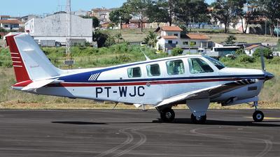PT-WJC - Beechcraft A36 Bonanza - Private