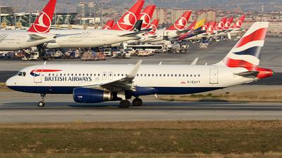 G-EUYT - Airbus A320-232 - British Airways