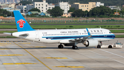 A picture of B309M - Airbus A320251N - China Southern Airlines - © Jack  Li