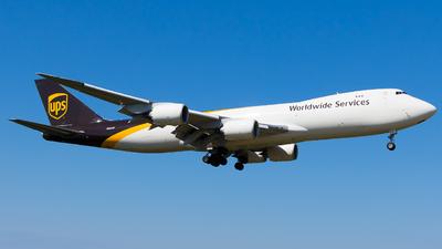 N615UP - Boeing 747-84AF - United Parcel Service (UPS)