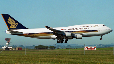 9V-SMB - Boeing 747-412 - Singapore Airlines