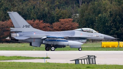 J-512 - General Dynamics F-16AM Fighting Falcon - Netherlands - Royal Air Force