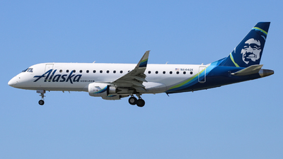 A picture of N644QX - Embraer E175LR - Alaska Airlines - © John Marzo