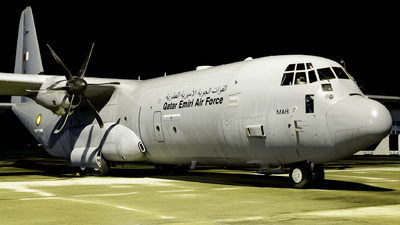 211 - Lockheed Martin C-130J-30 Hercules - Qatar - Air Force