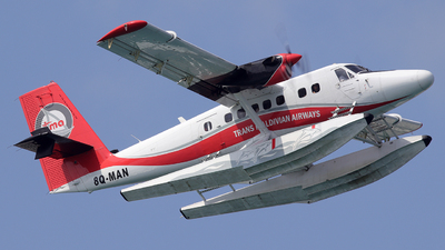 8Q-MAN - De Havilland Canada DHC-6-300 Twin Otter - Trans Maldivian Airways