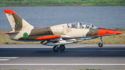 314 - Aero L-39ZA Albatros - Bangladesh - Air Force
