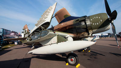 NX39606 - Douglas A-1H Skyraider - Private