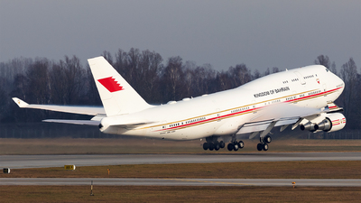A9C-HAK - Boeing 747-4F6 - Bahrain - Royal Flight