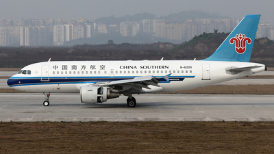 B-6200 - Airbus A319-112 - China Southern Airlines