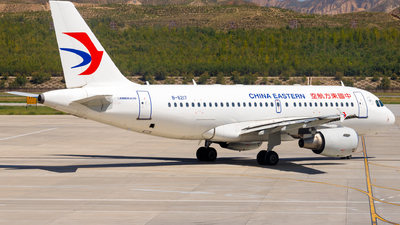 A picture of B6217 - Airbus A319115 - China Eastern Airlines - © H.C.