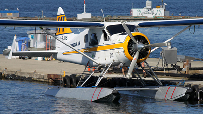C-FJOS - De Havilland Canada DHC-2 Mk.I Beaver - Harbour Air
