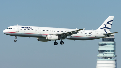 A picture of SXDNF - Airbus A321231 - Aegean Airlines - © Gerhard Zant