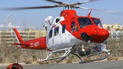EC-NDF - Bell 412 - Pegasus Aviation