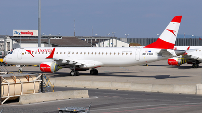 A picture of OELWO - Embraer E195LR - Austrian Airlines - © Lorenz Kafenda