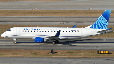 A picture of N78361 - Embraer E175LL - United Airlines - © Jason Whitebird