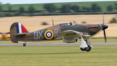 G-ROBT - Hawker Hurricane Mk.I - Private