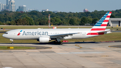 A picture of N780AN - Boeing 777223(ER) - American Airlines - © Yan777