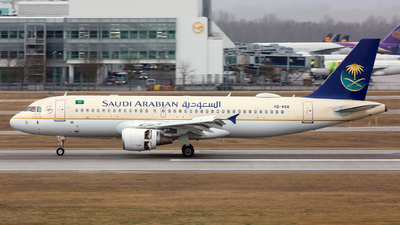 A picture of HZASA - Airbus A320214 - Saudia - © Dave Henderson