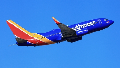 A picture of N443WN - Boeing 7377H4 - Southwest Airlines - © Edward Pascuzzi