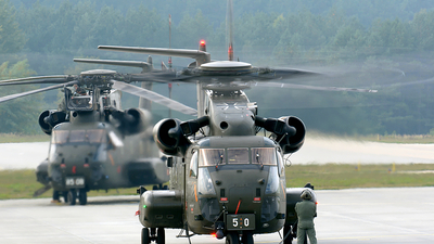 84-50 - Sikorsky CH-53GA - Germany - Air Force