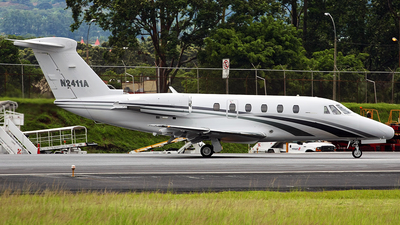 A picture of N2411A - Cessna 650 Citation III - [6500103] - © Julian Cubero Maingot - SJO Spotter