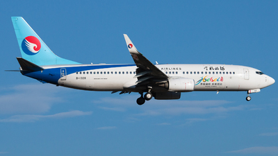 A picture of B1328 - Boeing 7378LW - Hebei Airlines - © LingFeng