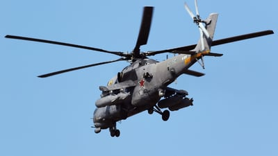 RF-13010 - Mil Mi-35M Hind - Russia - Air Force