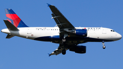 A picture of N329NB - Airbus A319114 - Delta Air Lines - © Alec Mollenhauer