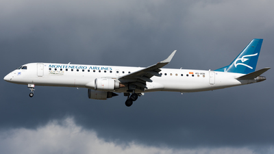 A picture of 4OAOB - Embraer E195LR -  - © Sierra Aviation Photography
