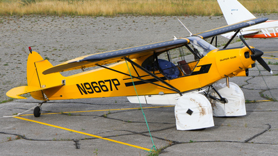 N9667P - Piper PA-18A-150 Super Cub - Private