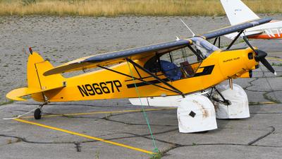 A picture of N9667P - Piper PA18150 Super Cub - [187509012] - © C. v. Grinsven