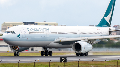B-LBA - Airbus A330-343 - Cathay Pacific Airways