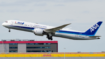 A picture of JA891A - Boeing 7879 Dreamliner - All Nippon Airways - © Kyan Rossignol