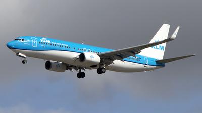 PH-BXV - Boeing 737-8K2 - KLM Royal Dutch Airlines