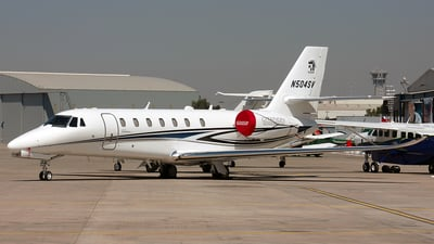 N504SV - Cessna 680 Citation Sovereign - Cessna Aircraft Company