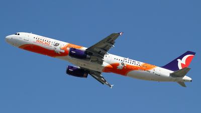 A picture of BMBB - Airbus A321231 - Air Macau - © M.T