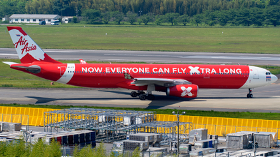 HS-XTF - Airbus A330-343 - Thai AirAsia X