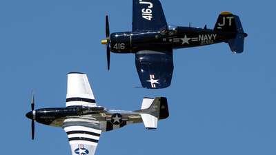N713JT - Chance Vought F4U-4 Corsair - Private