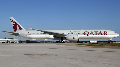 A7-BAQ - Boeing 777-3DZER - Qatar Airways