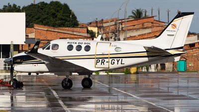PR-GYL - Beechcraft C90GTi King Air - Rota do Sol Táxi Aéreo