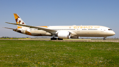 A6-BLO - Boeing 787-9 Dreamliner - Etihad Airways
