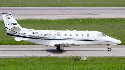 YU-PCC - Cessna 560XL Citation XLS+ - Prince Aviation