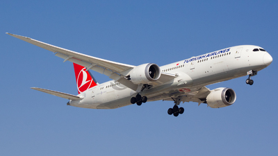 A picture of TCLLB - Boeing 7879 Dreamliner - Turkish Airlines - © Chárbel Sandoval
