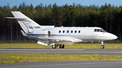 OK-HWK - Hawker Beechcraft 900XP - Private