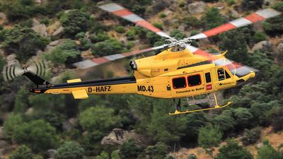 D-HAFZ - Bell 412SP - Pegasus Air Services