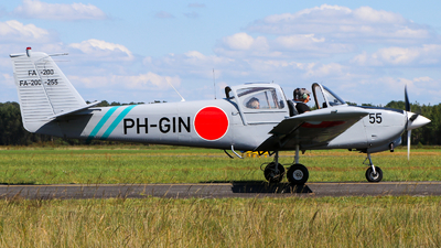 PH-GIN - Fuji FA-200-180 Aero Subaru - Wings over Holland