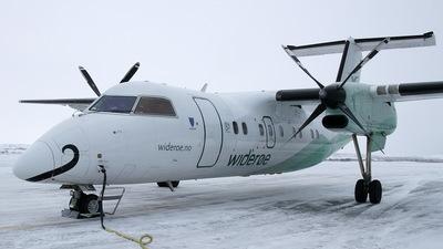 LN-ILS - Bombardier Dash 8-104 - Widerøe