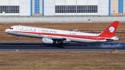 B-2370 - Airbus A321-231 - Sichuan Airlines