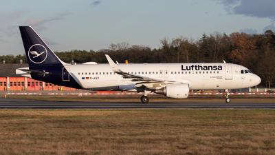 A picture of DAIZZ - Airbus A320214 - Lufthansa - © Tjorve. Henzler